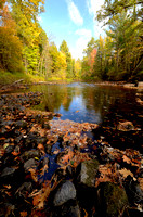 Fall Colors Along the Pine River